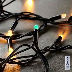 Sirius lyskæde - Tech-Line - Udvidelses sæt med 200 Varmhvid LED