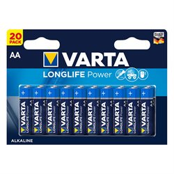 VARTA Longlife Power batteri - AAA - 20 stk.