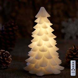Sirius Carla juletræ - Køb Carla juletræet i stearin med LED lys fra Sirius