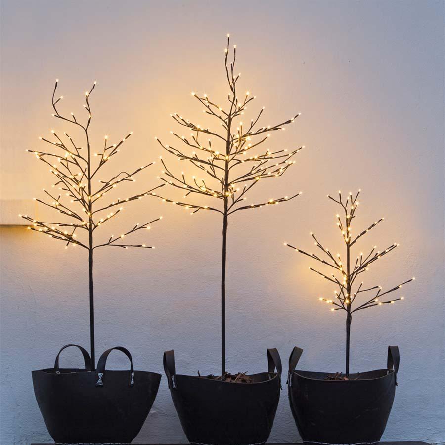 Sirius - Noah lystræ med 80 LED lys - 1,1 meter højt