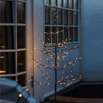 Sirius - Alex lystræ med 240 LED lys - 180 cm. højt