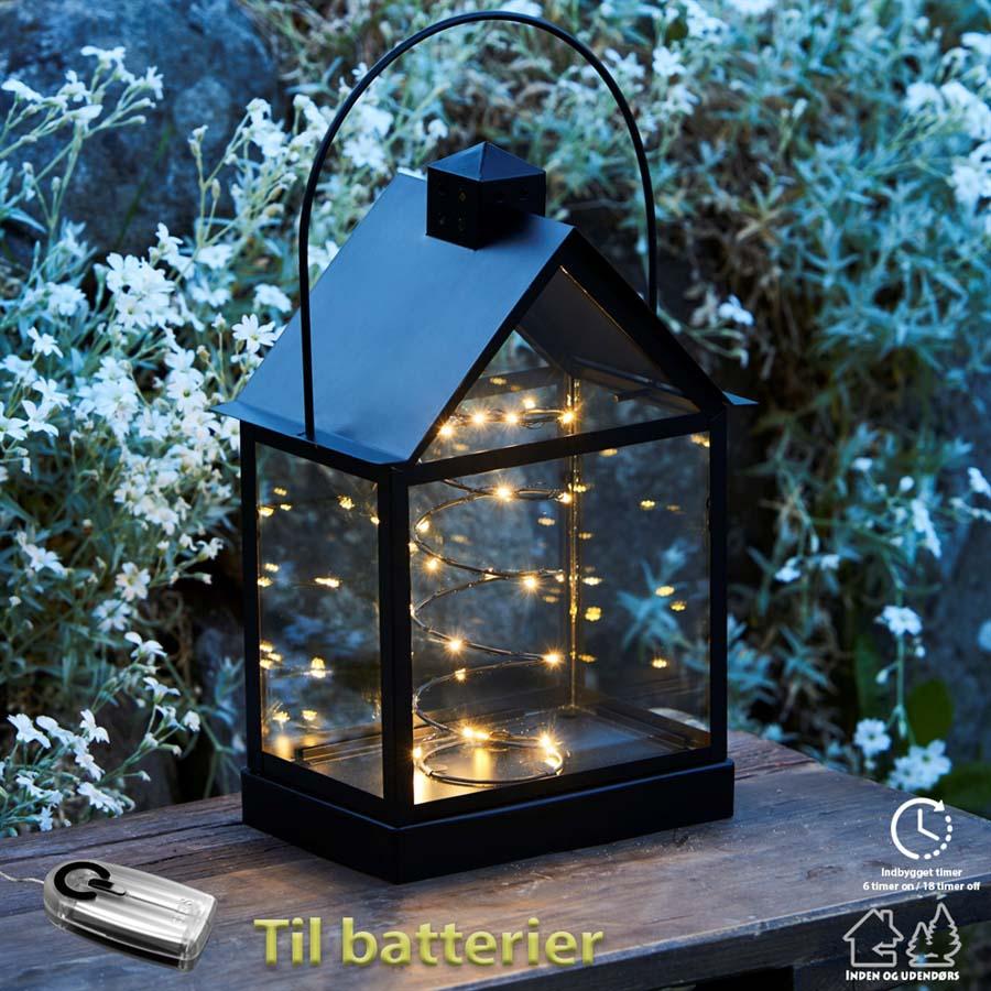 Lauritz lanterne - Sort