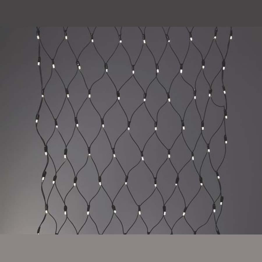 Sirius lyskæde - Tech-Line - Net med 90 Varmhvid LED - 1,2x1,2m