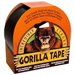 Gorilla Tape -Sort - 11 meter