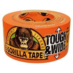 Gorilla Tough & Wide - Sort - 27 meter