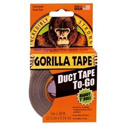 Gorilla Tape To-Go - Sort - 9,14 meter