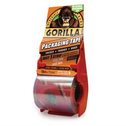 Gorilla Tape - Pakketape i dispenser - 18 meter